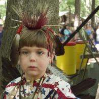 Young Boy at Pow-Wow